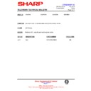 Sharp CV-2123H (serv.man17) Technical Bulletin