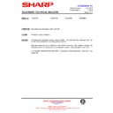 Sharp CV-3709H (serv.man14) Technical Bulletin