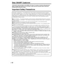 Sharp LC-15E1E (serv.man13) User Guide / Operation Manual