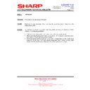 Sharp LC-15E1E (serv.man26) Technical Bulletin