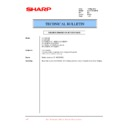Sharp LC-15E1E (serv.man28) Technical Bulletin