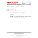 Sharp LC-26LE320E (serv.man10) Technical Bulletin