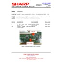 Sharp LC-26LE320E (serv.man4) Technical Bulletin