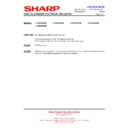 Sharp LC-26LE320E (serv.man7) Technical Bulletin