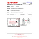 Sharp LC-26SA1E (serv.man5) Technical Bulletin