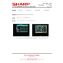 Sharp LC-26SA1E (serv.man9) Technical Bulletin