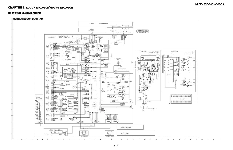 Sharp Lc 32dh57e Servman7 Service Manual View Online Or Block Diagram Lcd Wiring Tv Repair