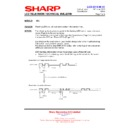Sharp LC-32FH510E (serv.man23) Technical Bulletin