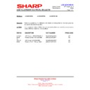 Sharp LC-32FH510E (serv.man24) Technical Bulletin
