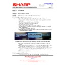 Sharp LC-32LE631E (serv.man6) Technical Bulletin