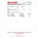 Sharp LC-32LE631E (serv.man7) Technical Bulletin