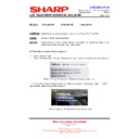 Sharp LC-32LE631E (serv.man9) Technical Bulletin