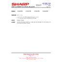 Sharp LC-32LE700E (serv.man21) Technical Bulletin