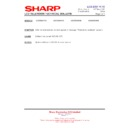 Sharp LC-32SA1E (serv.man10) Technical Bulletin