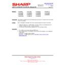 Sharp LC-32SA1E (serv.man6) Technical Bulletin