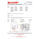Sharp LC-32SA1E (serv.man7) Technical Bulletin