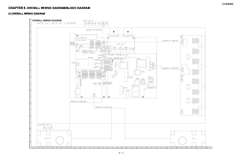 Sharp Lc 37ad5e Service Manual View Online Or Download Repair Block Diagram Key