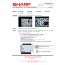 Sharp LC-37GA5E (serv.man29) Technical Bulletin