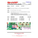 Sharp LC-37GA5E (serv.man33) Technical Bulletin