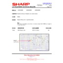 Sharp LC-37GA5E (serv.man36) Technical Bulletin
