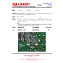 Sharp LC-37GA5E (serv.man37) Technical Bulletin