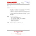 Sharp LC-37GA5E (serv.man39) Technical Bulletin