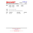 Sharp LC-37GA9EK (serv.man37) Technical Bulletin