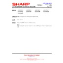 Sharp LC-37GA9EK (serv.man44) Technical Bulletin