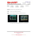 Sharp LC-37GD9EK (serv.man45) Technical Bulletin
