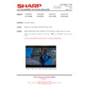 Sharp LC-37GD9EK (serv.man46) Technical Bulletin
