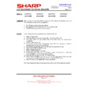 Sharp LC-37GD9EK (serv.man50) Technical Bulletin
