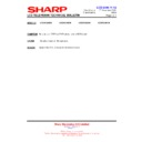 Sharp LC-37GD9EK (serv.man52) Technical Bulletin