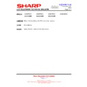 Sharp LC-37GD9EK (serv.man53) Technical Bulletin