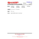Sharp LC-37GD9EK (serv.man54) Technical Bulletin