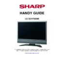 Sharp LC-37GD9EK Handy Guide