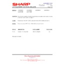 Sharp LC-37P55E (serv.man53) Technical Bulletin