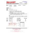 Sharp LC-37P55E (serv.man55) Technical Bulletin
