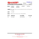 Sharp LC-37P55E (serv.man57) Technical Bulletin