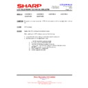 Sharp LC-37P55E (serv.man61) Technical Bulletin
