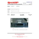 Sharp LC-42SD1E (serv.man15) Technical Bulletin