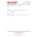 Sharp LC-42SD1E (serv.man16) Technical Bulletin