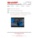 Sharp LC-42SD1E (serv.man20) Technical Bulletin