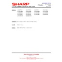 Sharp LC-42SD1E (serv.man21) Technical Bulletin