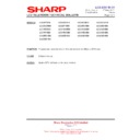 Sharp LC-42SD1E (serv.man23) Technical Bulletin