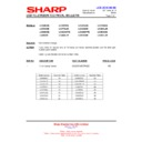 Sharp LC-46DH66 (serv.man13) Technical Bulletin