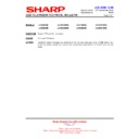 Sharp LC-46DH66 (serv.man14) Technical Bulletin