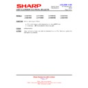 Sharp LC-46DH66 (serv.man16) Technical Bulletin