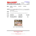 Sharp LC-46DH66 (serv.man18) Technical Bulletin