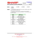 Sharp LC-46DH66 (serv.man19) Technical Bulletin