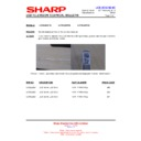 Sharp LC-46LE631E (serv.man9) Technical Bulletin
